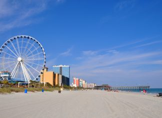 Beat the heat on your South Carolina vacation