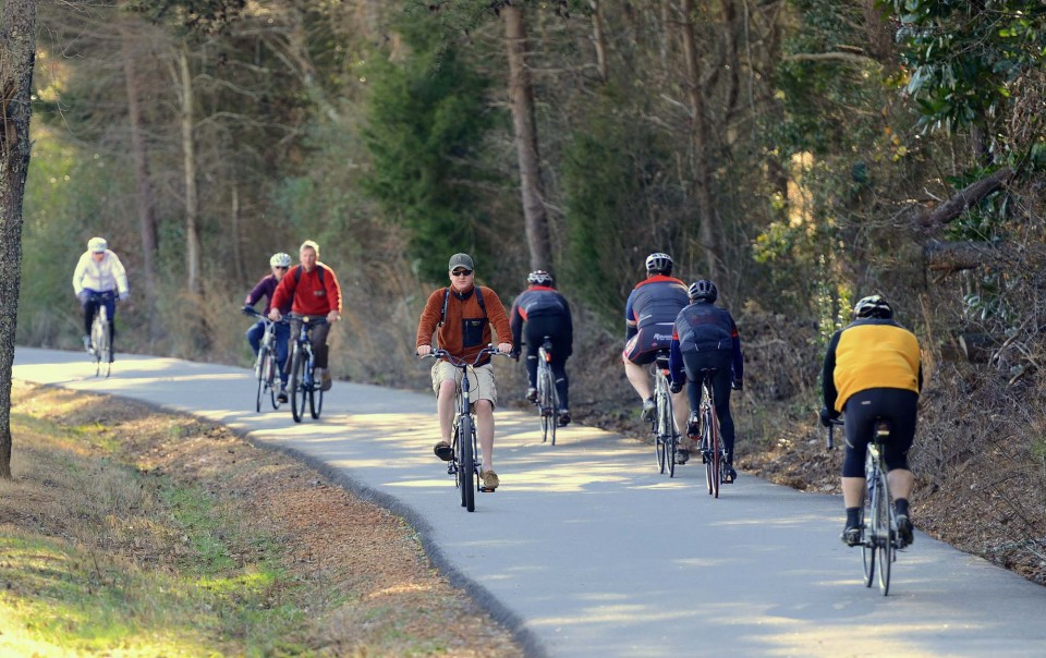 top things to do in Greenville, SC SC travel guide swamp rabbit trail