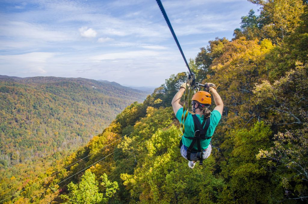 top things to do in Greenville, SC the gorge zipline and canopy tour sc travel guide