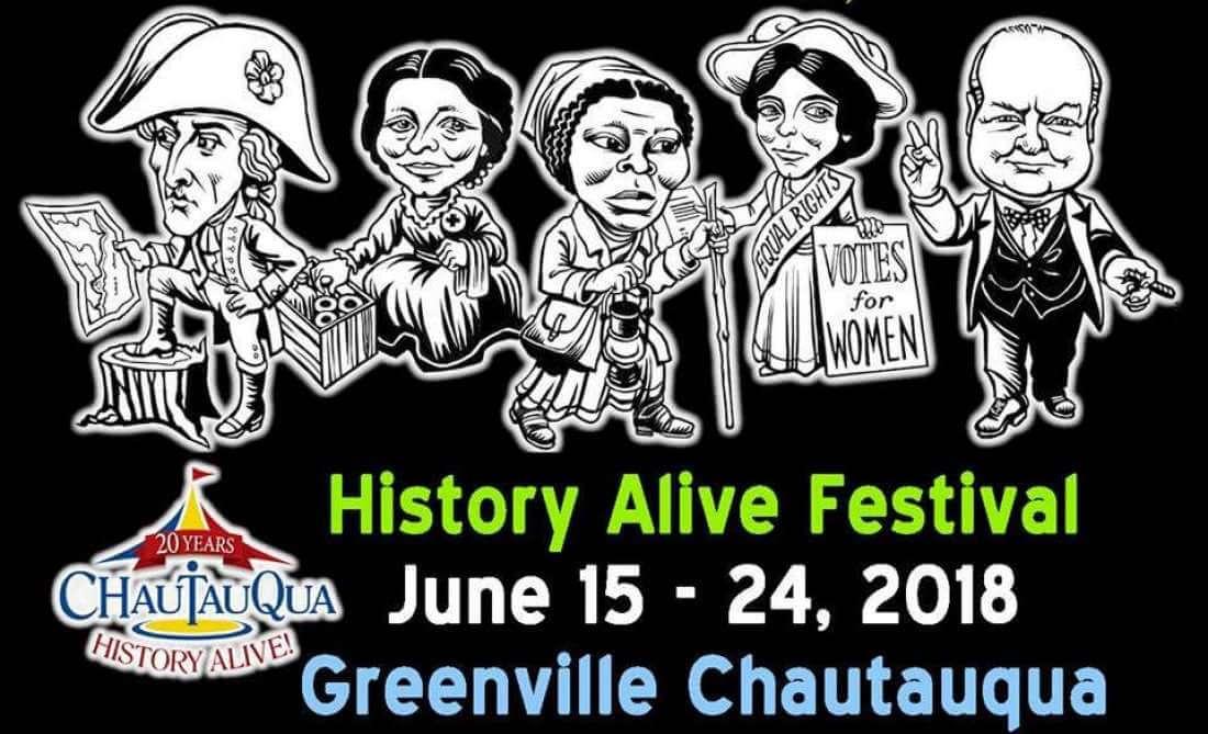 Chautauqua History Alive Festival Greenville, SC