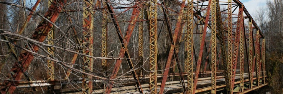 Crybaby Bridge, Anderson, SC sc travel guide Haunted Places in Upstate SC