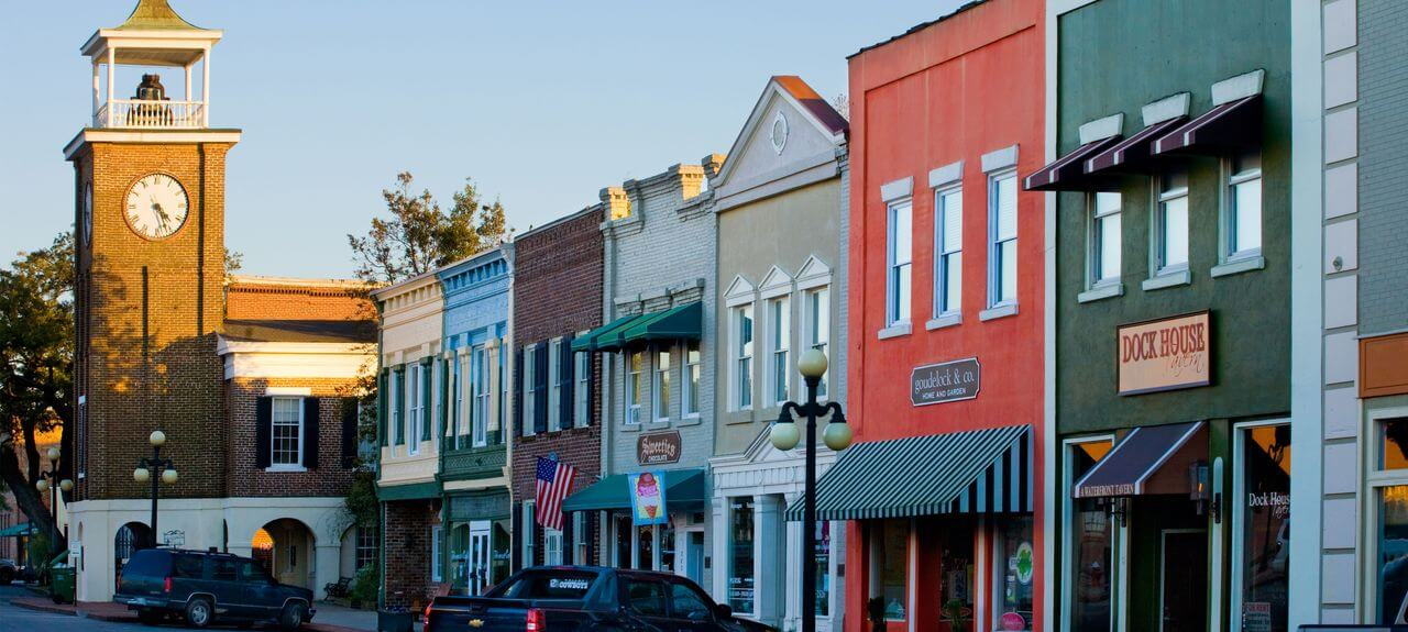 Georgetown South Carolina downtown SC Travel Guide