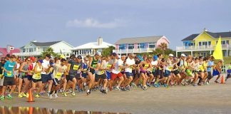 Isle of Palms Beach Run 10K run and 5K beach run or 5K walk, youth fun run
