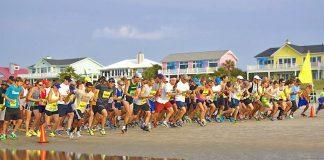 Isle of Palms Beach Run 10K run and 5K beach run or 5K walk, youth fun run