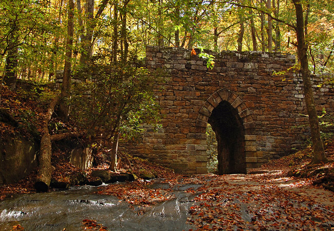 Poinsett Bridge greenville sc travel guide haunted places in upstate sc