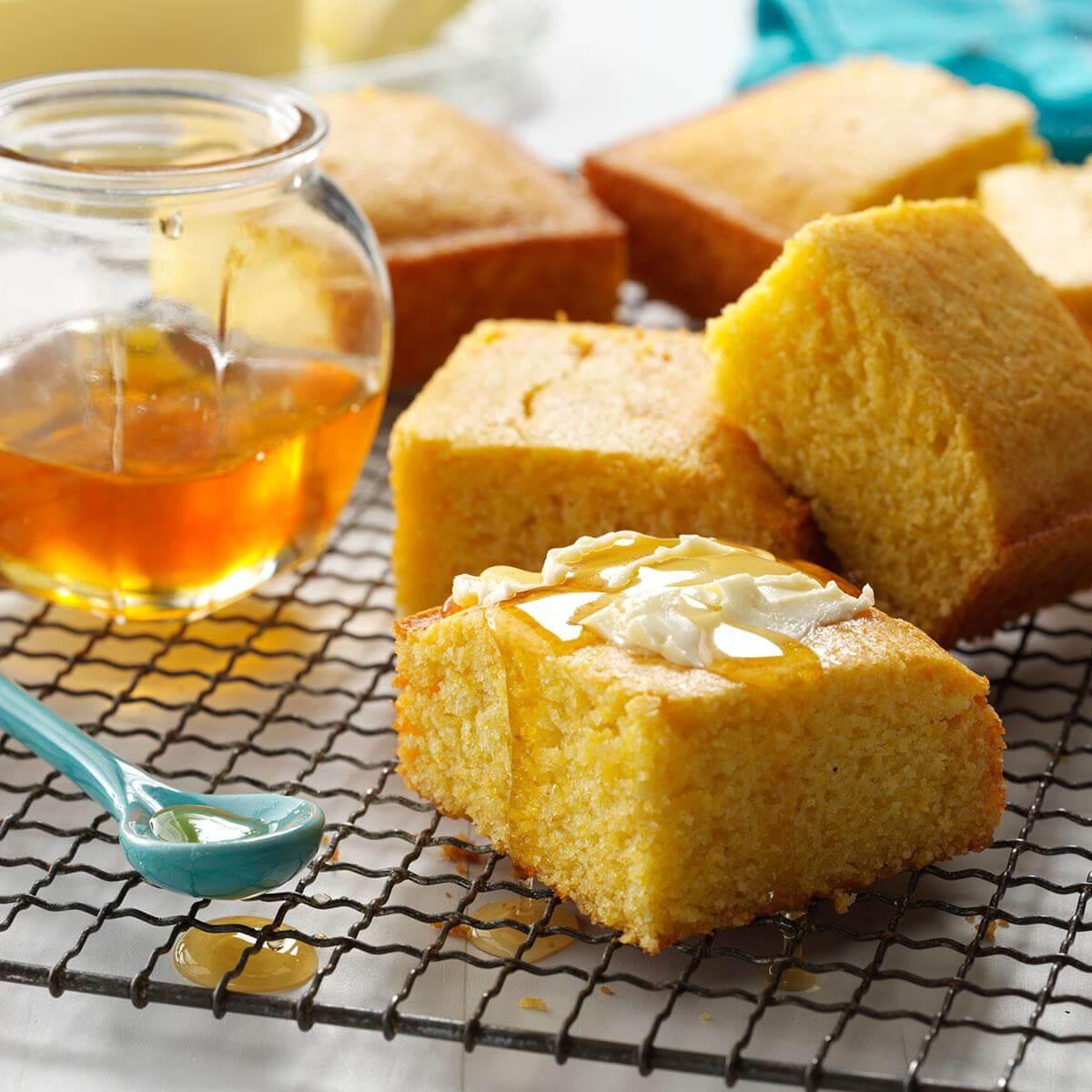 Sweet Honey Cornbread south carolina cornbread recipes sc travel guide