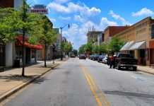 Downtown Newberry South Carolina