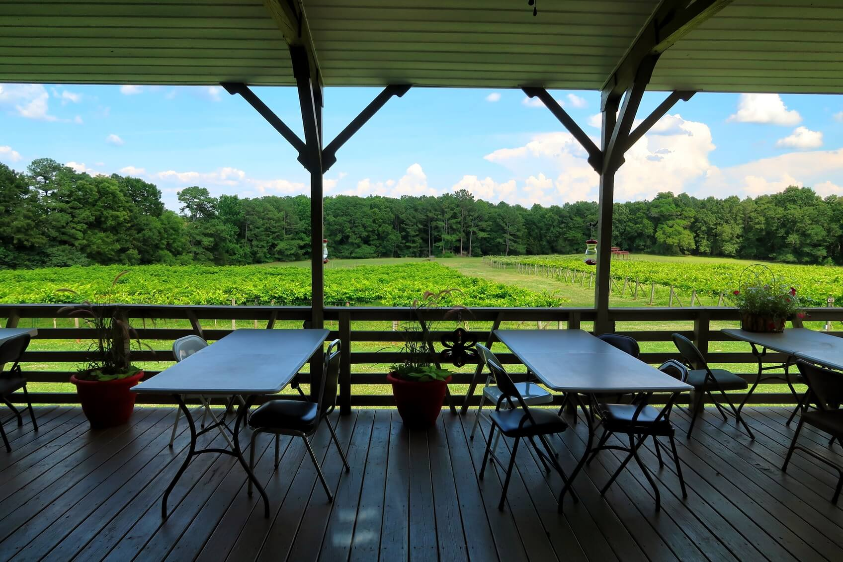 Enoree River Winery - Deck