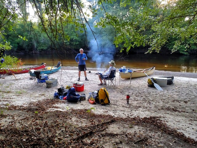 Kayak Camping South Carolina
