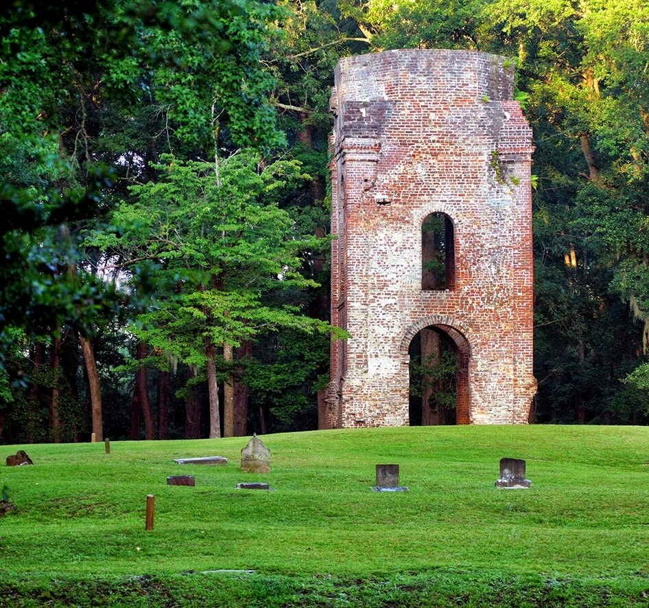 old dorchester chruch ruins south carolina ghost towns