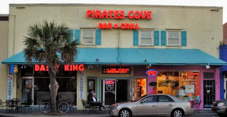 pirates cove lounge north myrtle beach carolina shag dancing guide sctravelguide