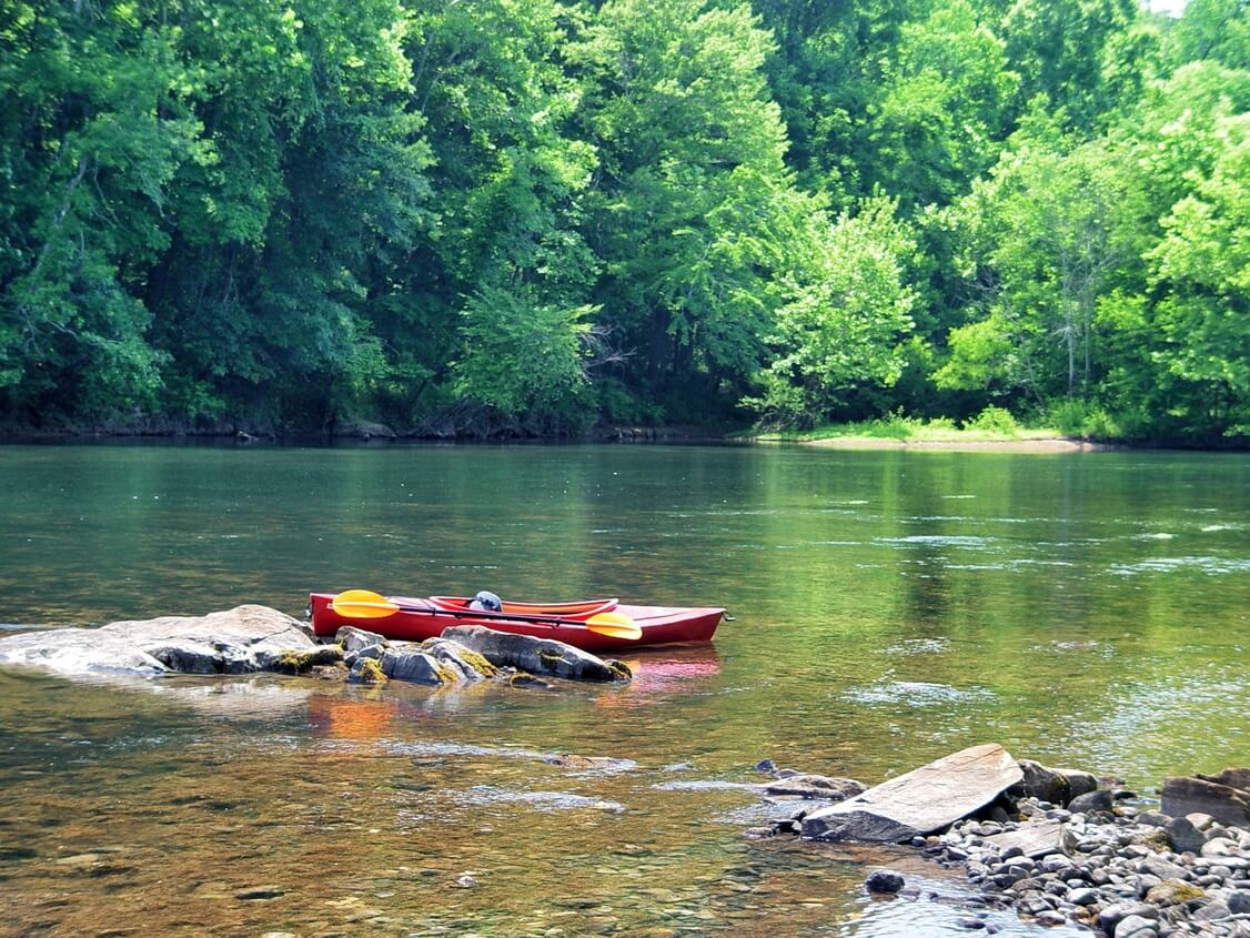 Saluda River SC Kayaking