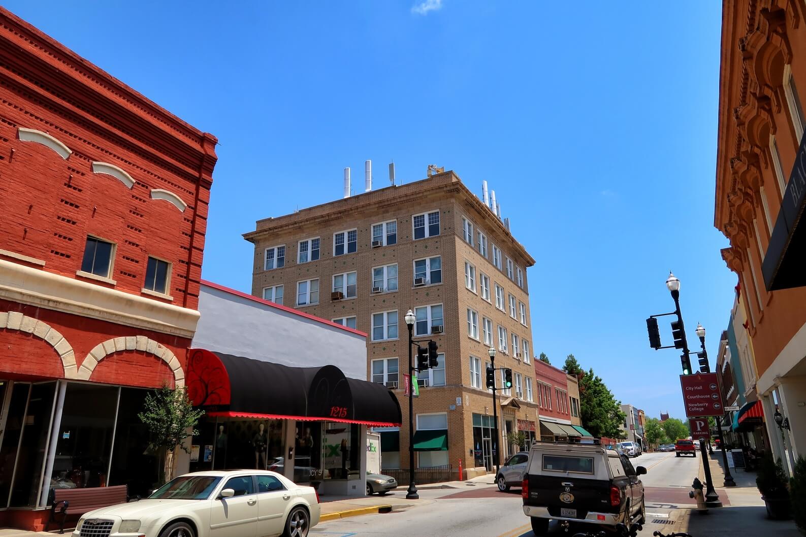 The Parr Building. Newberry South Carolina