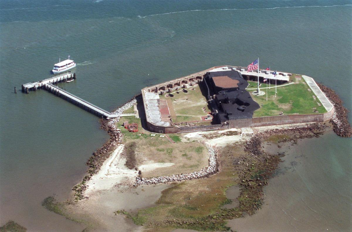 top things to do in charleston, SC travel guide Charleston fort sumter