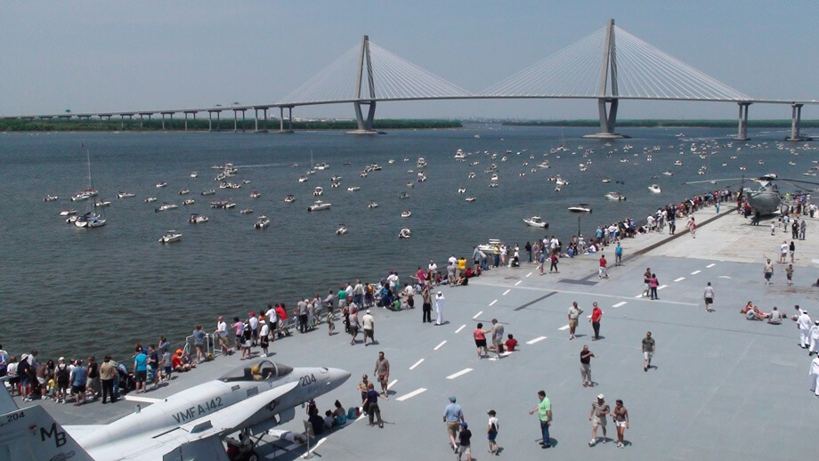 top things to do in charleston, SC travel guide Charleston uss yorktown