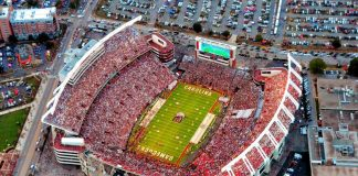 williams brice stadium sportings vents in the midlands sctravelguide sc gamecocks
