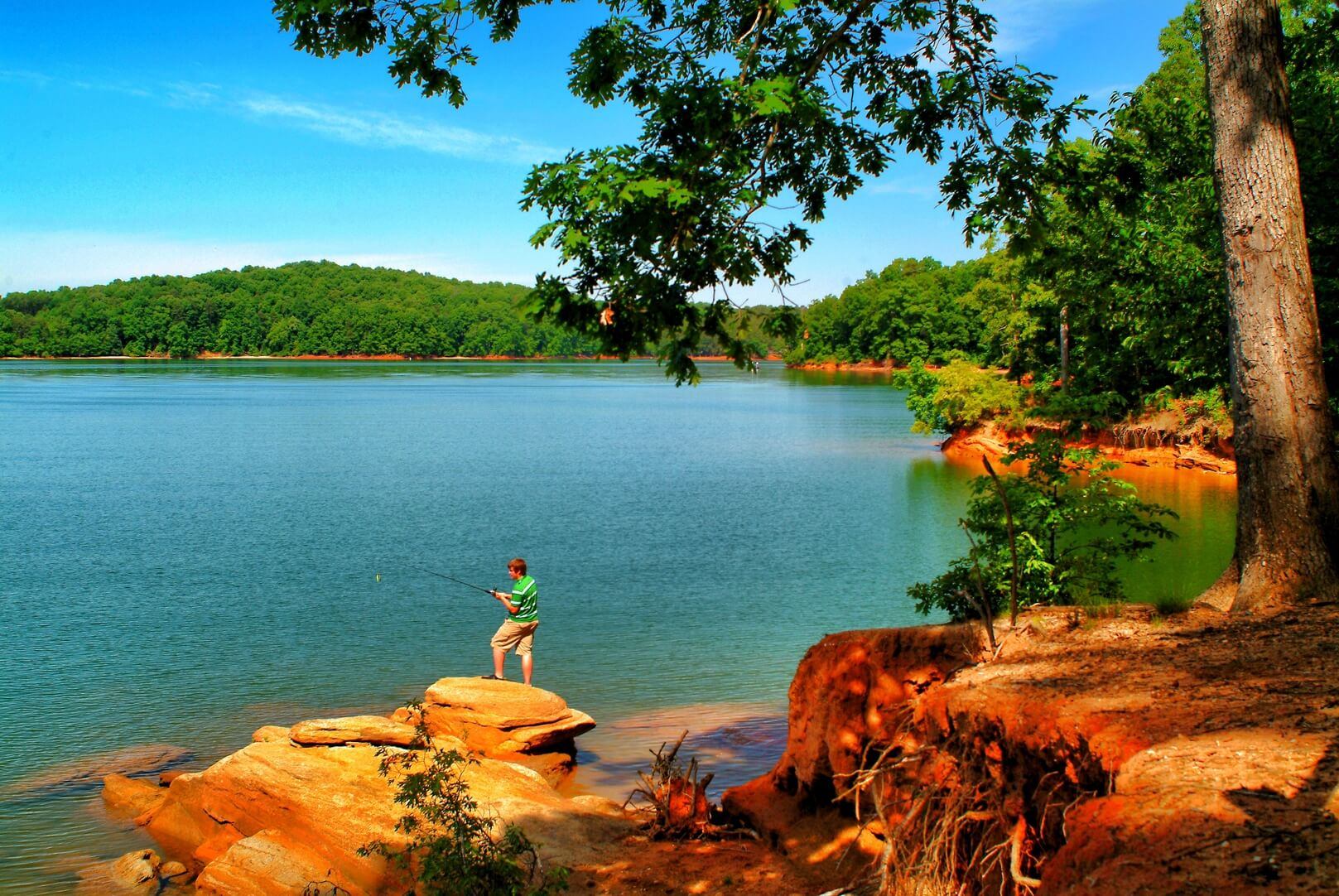 Lake Hartwell, South Carolina. South Carolina Kayaking