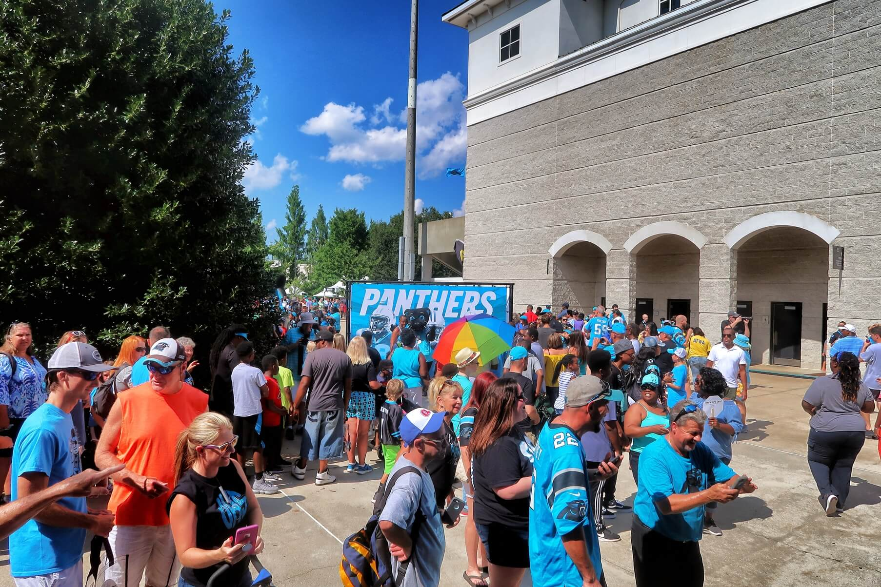 Carolina Panther Training Camp 2018 SC Travel Guide