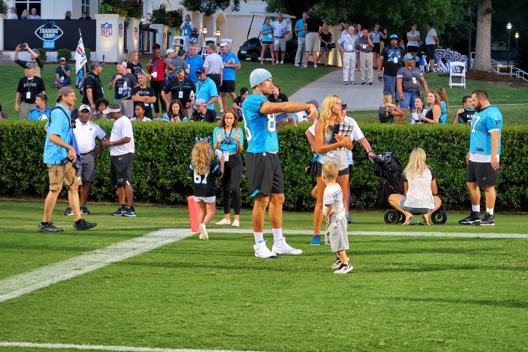 Carolina Panthers Training Camp 2018 Greg Olsen