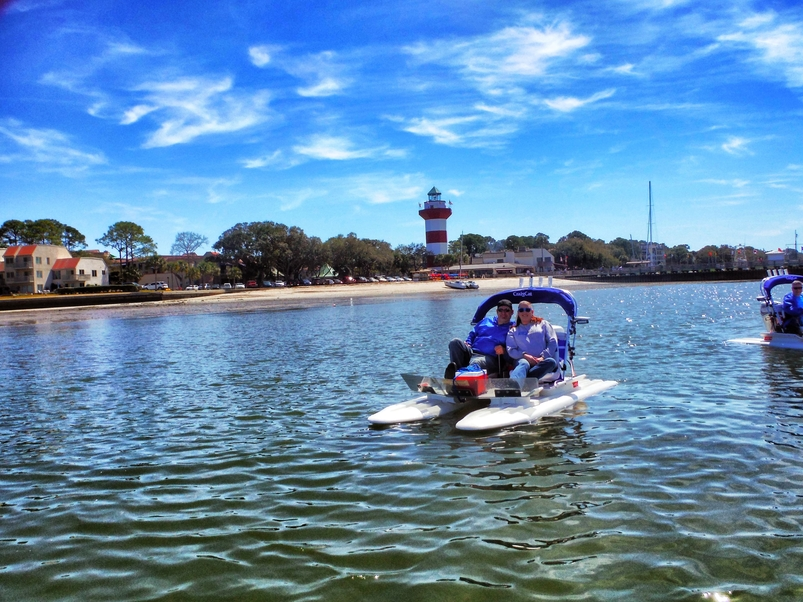 things to do in hilton head island this weekend backwater cat adventure