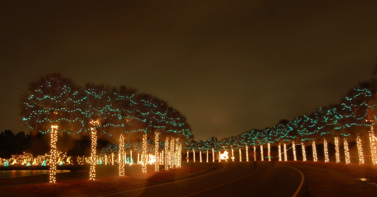Where to See Christmas Lights in South Carolina - SC Travel Guide