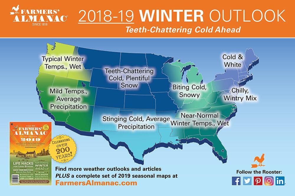 south carolina winter forecast 2018-2019 sc travel guide