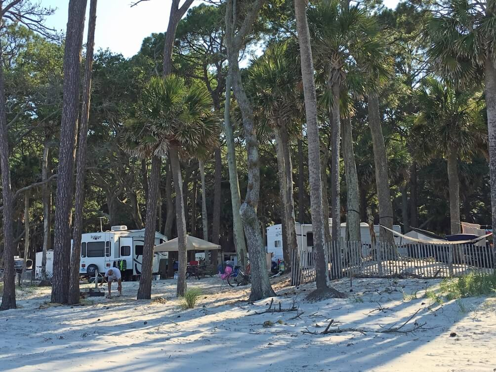 Hunting Island State Park - RV Camping in South Carolina - SC Travel Guide
