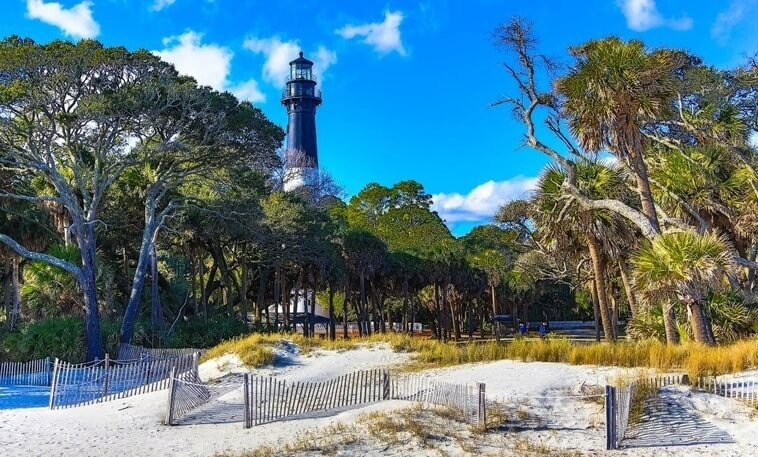 hunting island state park rv camping