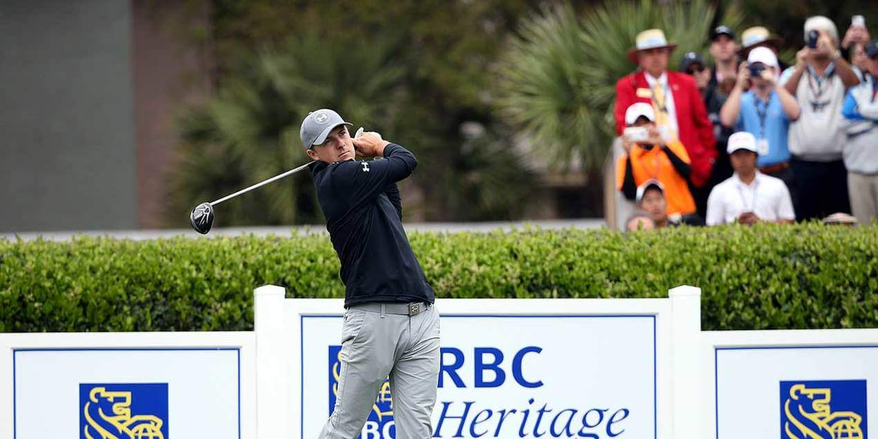 Jordan Spieth at the RBC Heritage | Hilton Head Island | SC Travel Guide